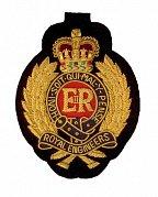 Klubová výšivka Royal engineers YY-BB004
